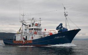 23/11/2019 Barco de rescate Aita Mari