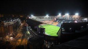 El Valencia-Atalanta, disputado a puerta cerrada el 10 de marzo en Mestalla, antes de que se suspendiera la Champions.