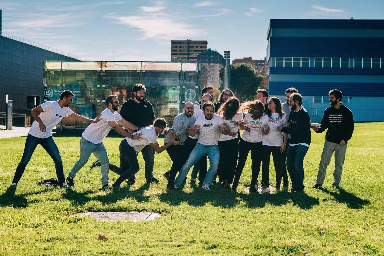 El equipo de la startup Vitcord.