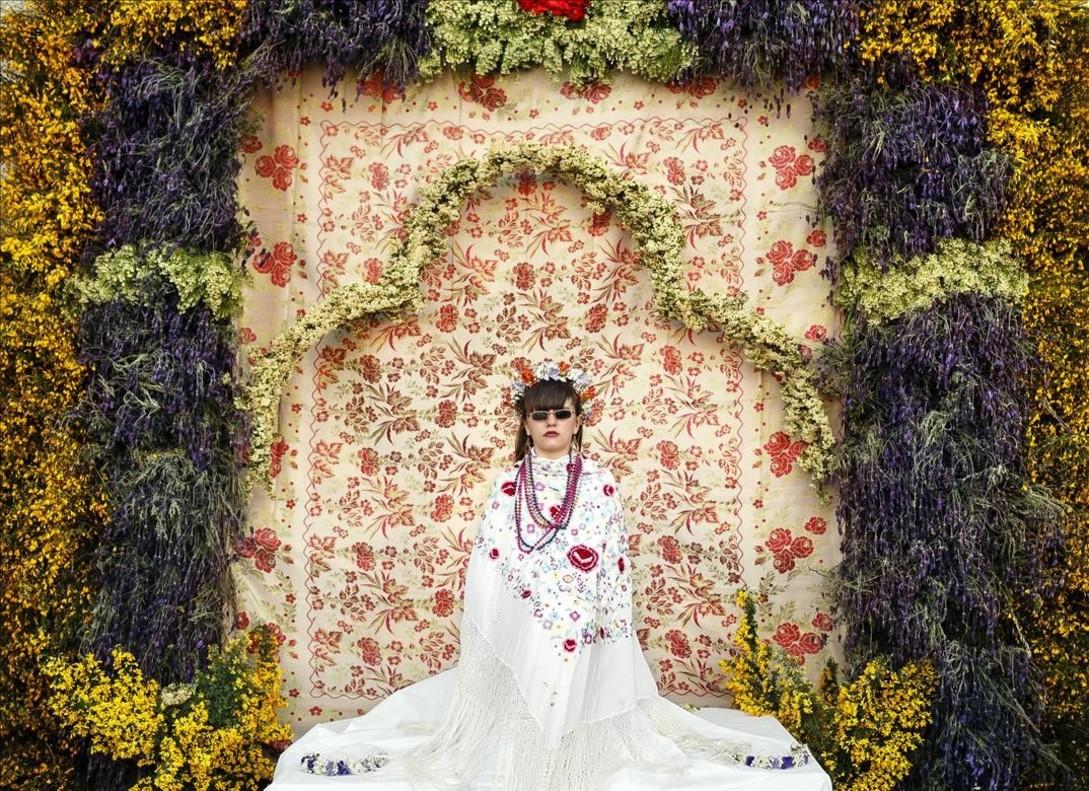 Fiestas tradicionales de Las Mayas, en Colmenar Viejo (Madrid).Una de las imágenes ganadoras en el World Press Photo 2016.