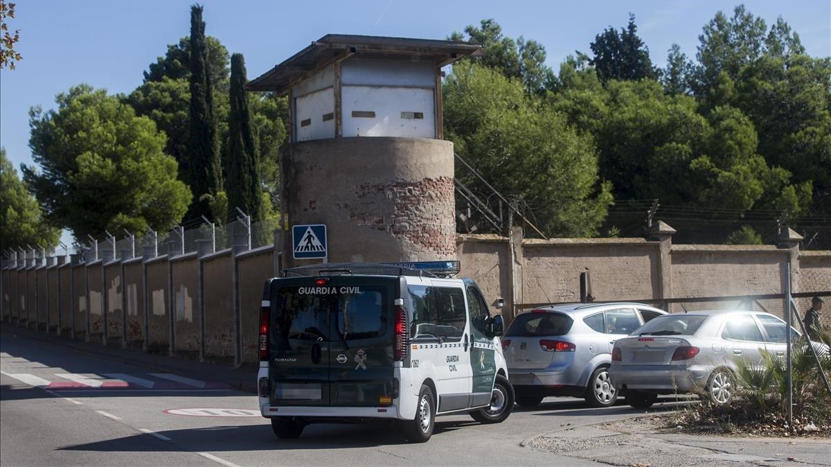 Imagen de archivo del cuartel militar Santa Eulàlia de Sant Boi.