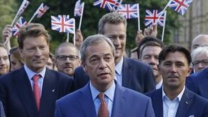 Farage es dispara a les enquestes amb el seu Partit del Brexit