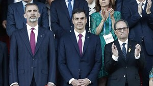 Jocs Mediterranis: El president Torra, a la protesta en contra del Rei a Tarragona | Directe
