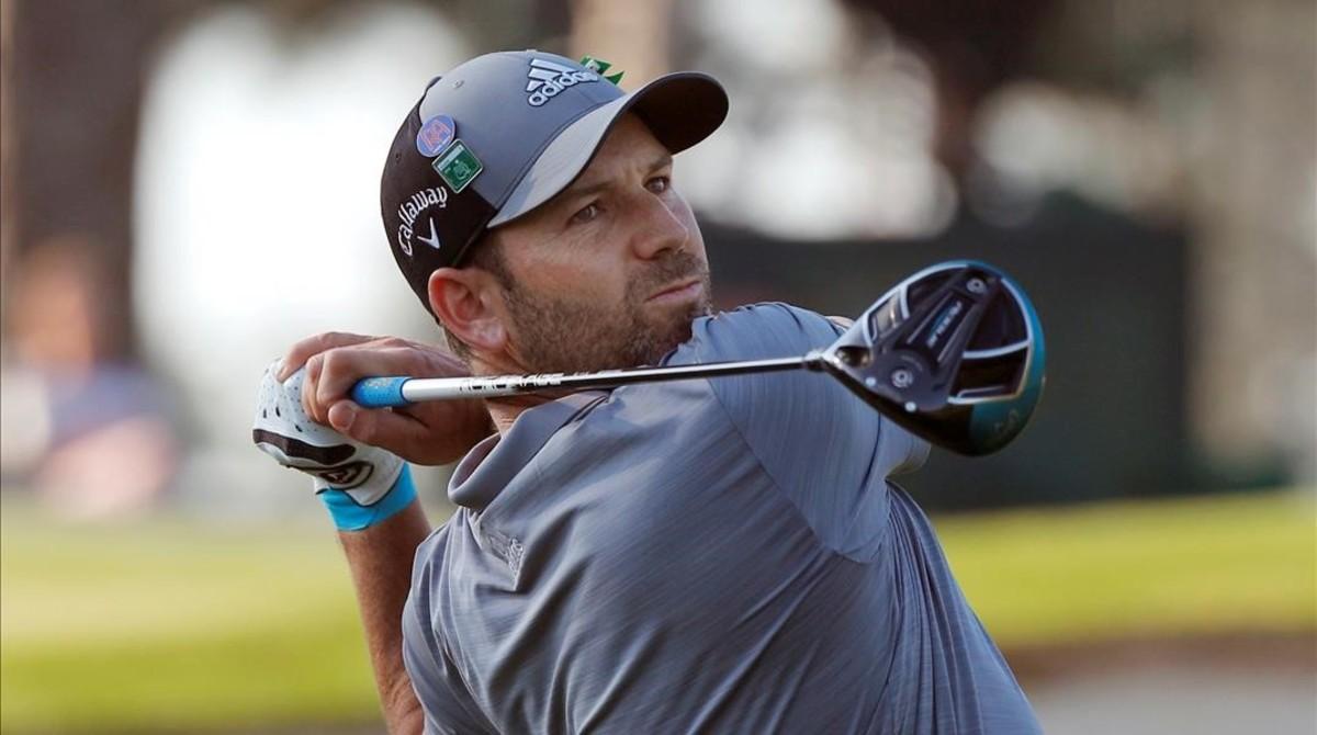 Sergio García, durante el Masters de Augusta, el pasado 3 de abril.