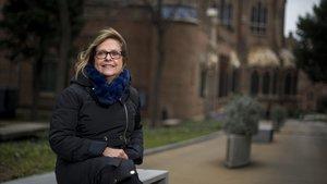 Marga Esteve, presidenta de la Associació Catalana de Direccions Infermeres (ACDI)y enfermera directora del Hospital de la Santa Creu i Sant Pau.
