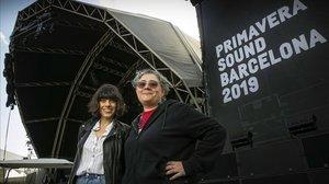 Ainara M. i Charo S.: «Punxar en el tancament del Primavera Sound és molt bèstia»
