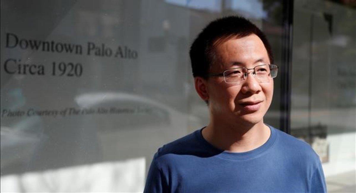 Zhang Yiming, dueño de TikTok, en Palo Alto el pasado 4 de marzo.