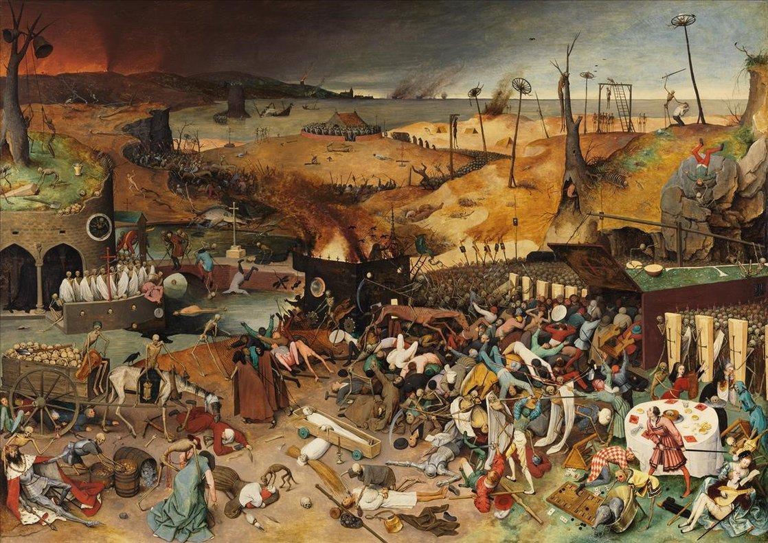 'El triunfo de la muerte', de Pieter Bruegel.