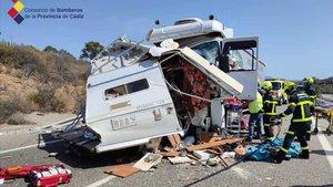 El suposat accident d'una autocaravana va encobrir un assassinat masclista
