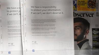 """Zuckerberg entona el """"mea culpa"""" en la prensa anglosajona"""