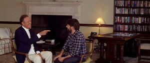 Julio Iglesias conversa amb Jordi Évole en la preestrena de Salvados.