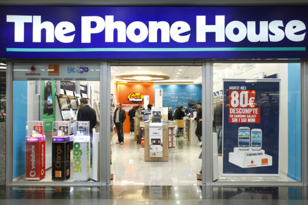 Wonderful Una Tienda De The Phone House.