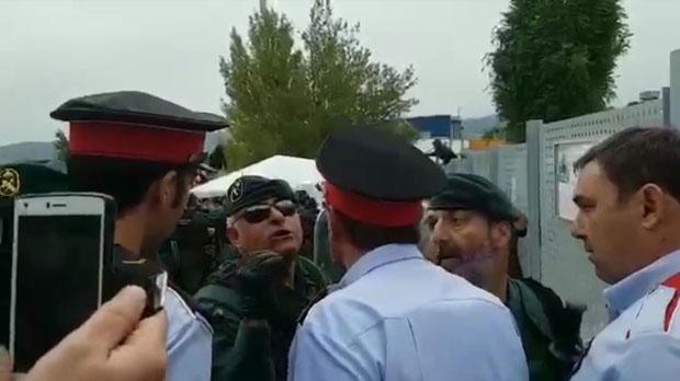 La Guàrdia Civil passa sobre els Mossos a Catalunya.
