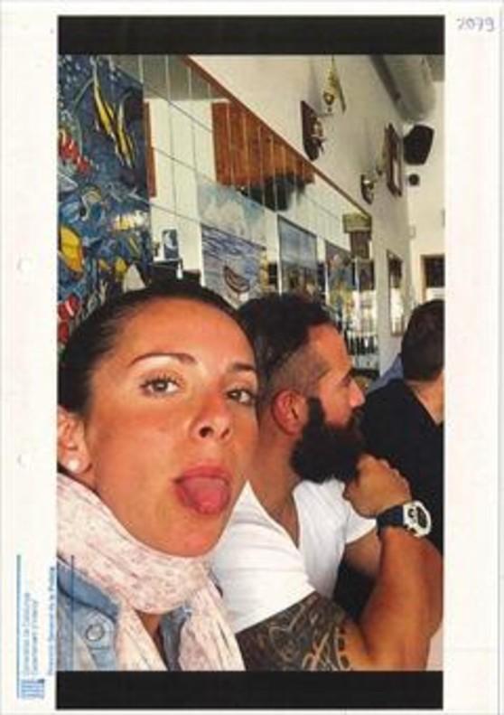 De fiesta 8La agente de la Guardia Urbana Rosa Peral, en una comida con amigos antes del crimen.