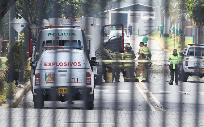 El Gobierno colombiano atribuye a la guerrilla ELN el atentado en Bogotá