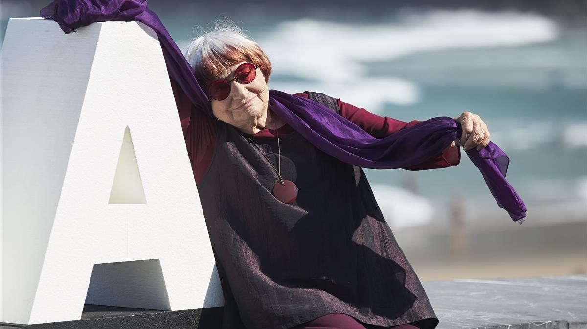 Agnès Varda, este domingo en el Festival de San Sebastián