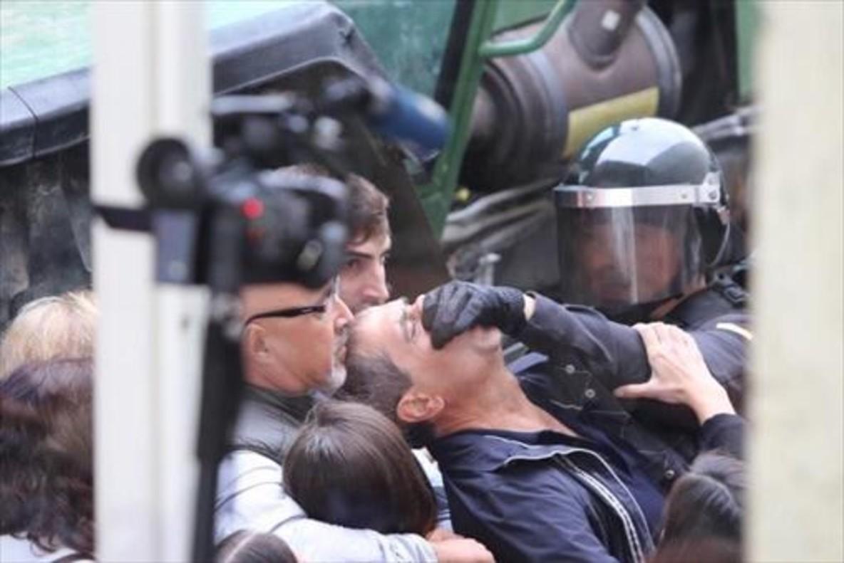 Agresiones en el pabellón de Sant Julià de Ramis,