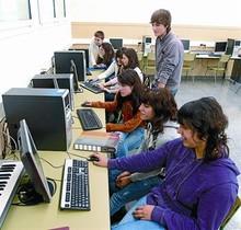 Alumnos de bachillerato del IES Jaume Callís de Vic, el año pasado.