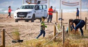 Les platges del litoral metropolità celebren la segona edició de l'Acció Platges Met