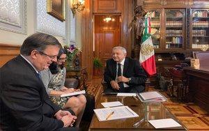 Andrés Manuel lópez Obrador, el presidente de México.