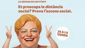 Anuncio retirado por La Grossa ante la polémica creada por el uso de ascenso social.