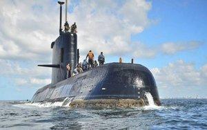 El submarino de la Armada argentinaARA San Juan.
