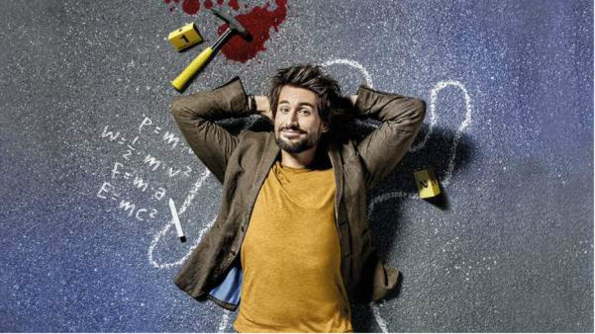 El actor Tom Beck,protagonista de la serie de Atreseries Einstein.