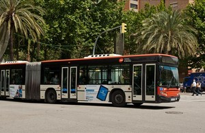 Un autobús de TMB.