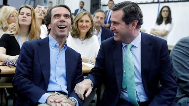 Aznar pide actuar contra el parque temático del nacionalismo.