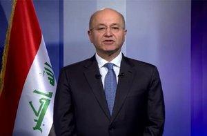 Barhan Salih, presidente de Irak.
