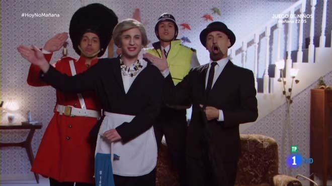El 'brexit' musical de José Mota (TVE-1).