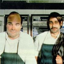 Antonio Resines y Jordi Molàs, en una escena de la película.