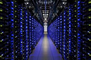Centro de datos de Google, donde se alojan los correos de Gmail, los vídeos de Youtube y su motor de búsqueda.