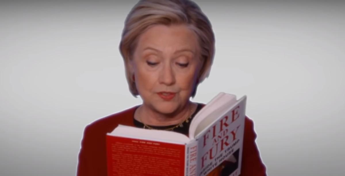 Intervención de Hillary Clinton en un vídeo en la gala de los Grammy.