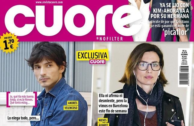 Portada de la revista Cuore, que se entrega el sábado con EL PERIÓDICO por un euro.