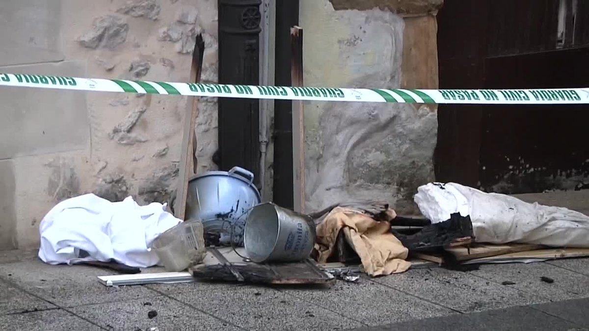 Mueren una mujer y su hija de 7 años en un incendio en su piso en Laredo.