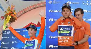 Ewan, en el podio de Australia, sin azafatas