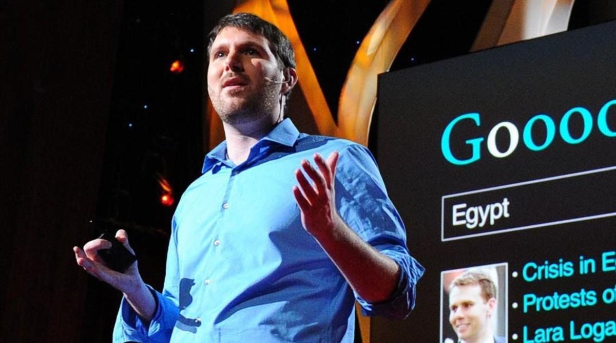 Eli Pariser, durante una conferencia.