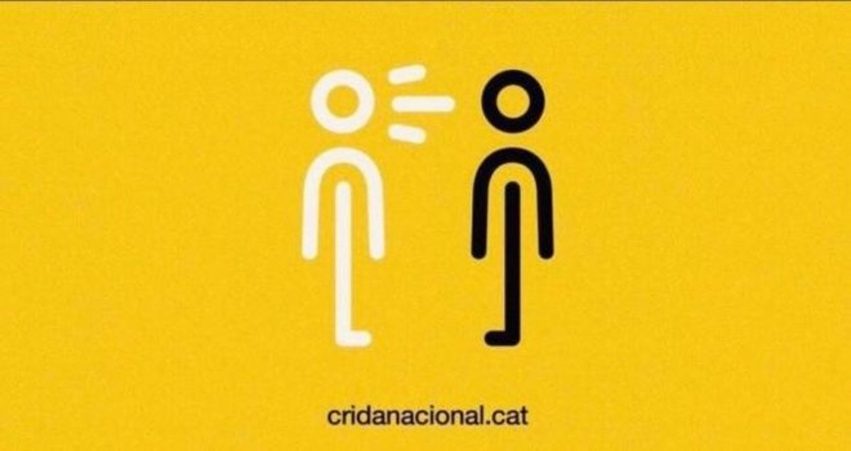 Grafismo de la Crida Nacional per la República.