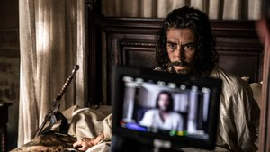 El actor catalán Óscar Jaenada,en el rodaje de la serie de Amazon 'Hernán'.