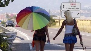 Organitzacions de dones recorren el sindicat de prostitutes