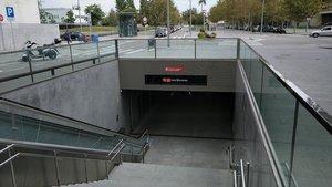 Estación de metro de Les Moreres, en El Prat de Llobregat.