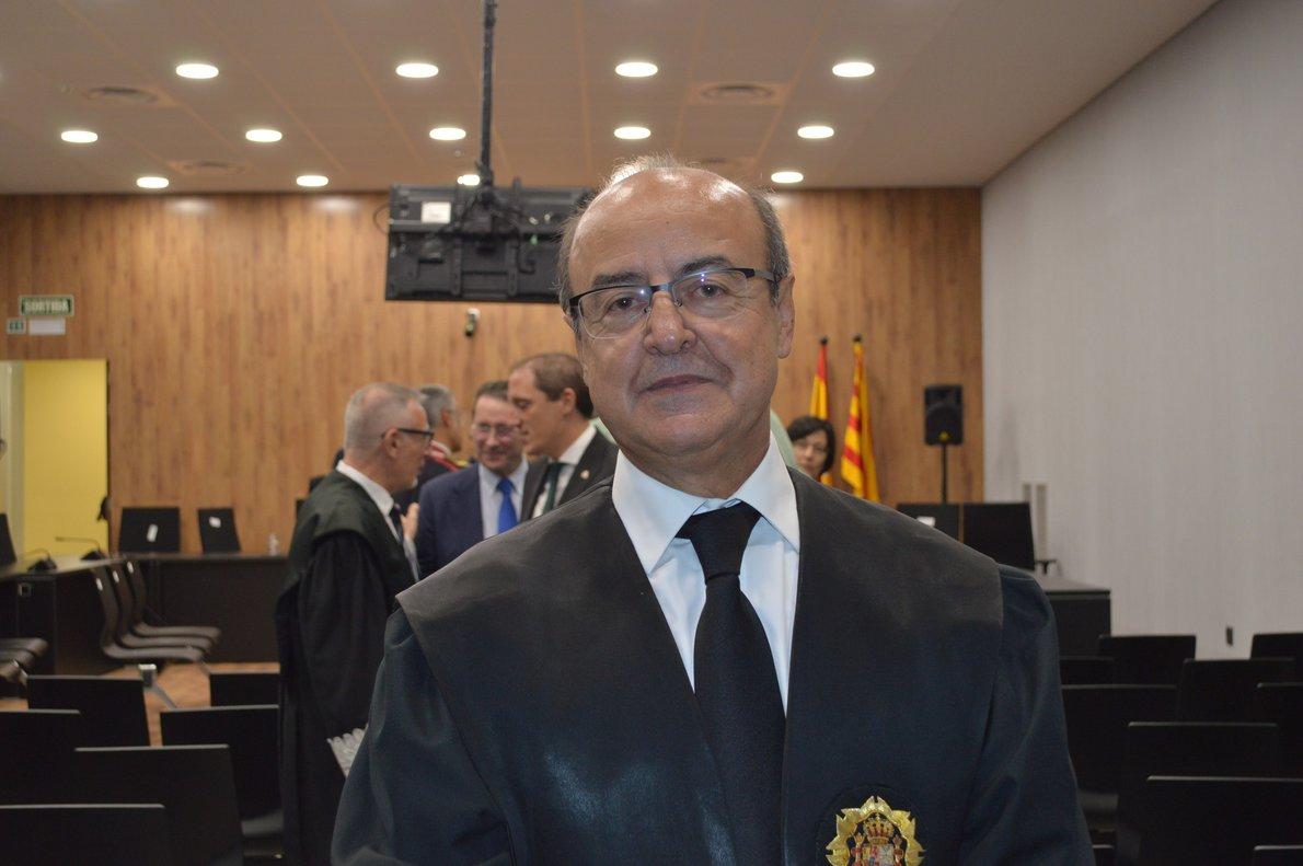Jesús María Barrientos, presidente del Tribunal Superior de Justicia de Catalunya.