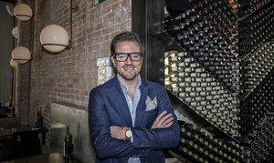 Jordi Barri, CEO y copropietario de Teresa Carles Healthy Foods, en Flax & Kale de Tallers.