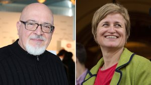 Josep Huguet y Anna Simó.