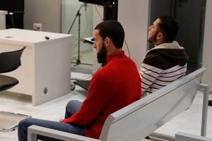 Vista del juicio en la Audiencia Nacional en el que este lunes se enjuicia a dos presuntos yihadistas,Ilyas Chentouf y Fouad Bouchihan.