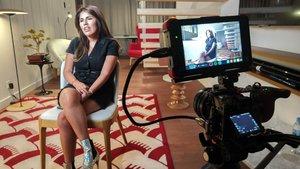 Isa Pantoja, en el programa de TVE-1 'Lazos de sangre' dedicado a Isabel Pantoja.