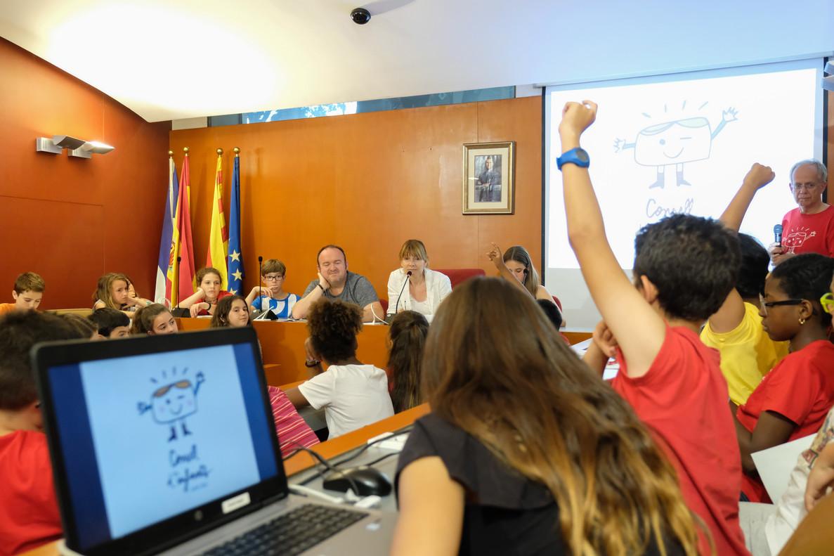 Los niños y niñas de Sant Boi participan en la mejora de la ciudad a través del Consejo de la Infancia y la Adolescencia