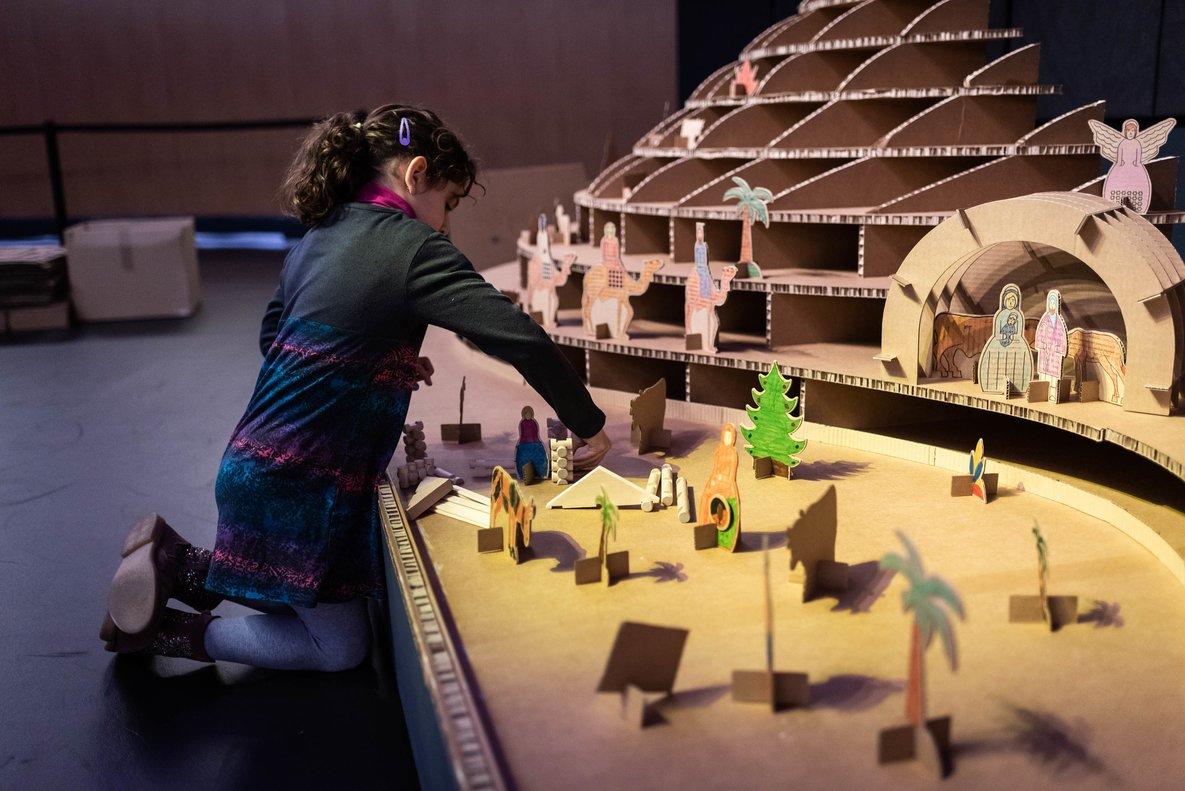 Los 'talleres de Navidad' del Museu de les Aigües en Cornellà.