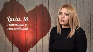 Lucía en 'First Dates'.